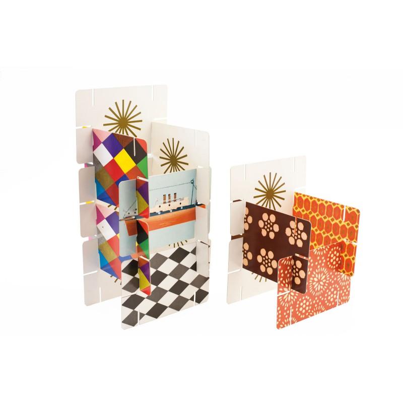Eames House of Cards, medium kaartenhuis