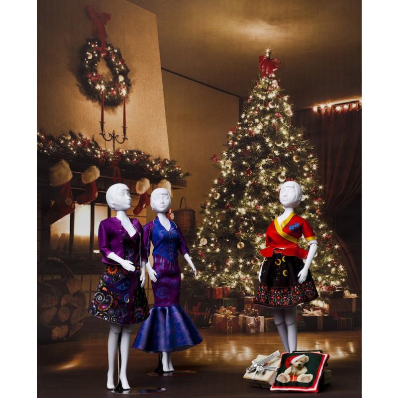 Kerstmis met Dress Your Doll