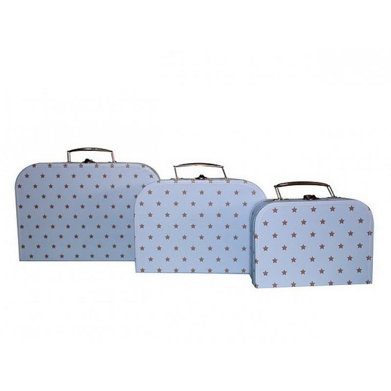 koffertje little star blue cara caro. Black Bedroom Furniture Sets. Home Design Ideas