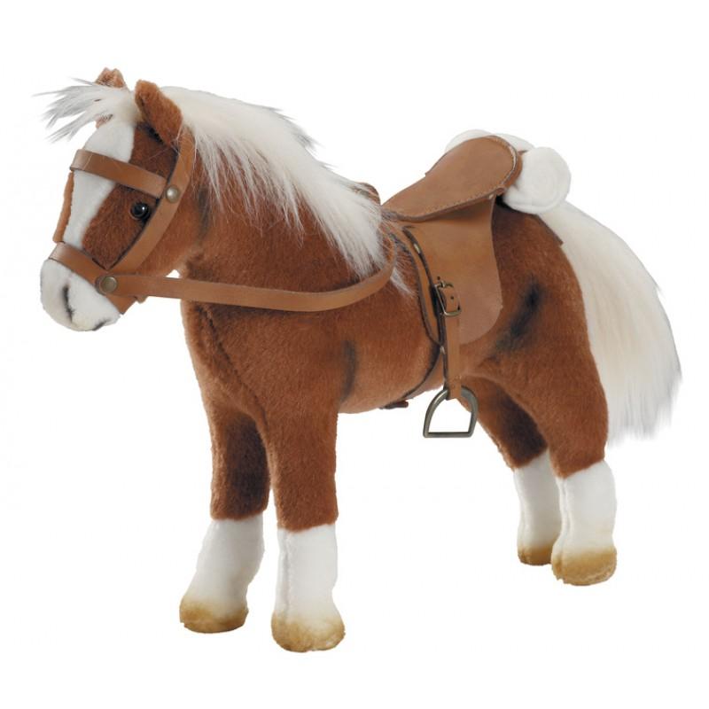 Donkerbruin paard voor je pop, Goetz