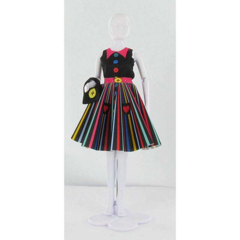 Peggy Rainbow, kledingset Dress Your Doll