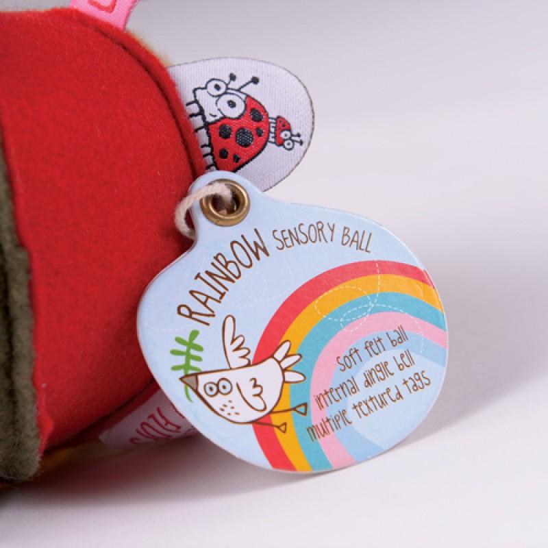 Rainbow bal Flipity Flop, OB Designs