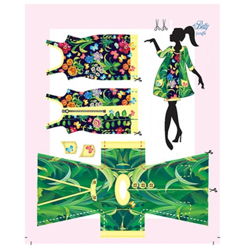 Betty Jungle kledingset, Dress your Doll
