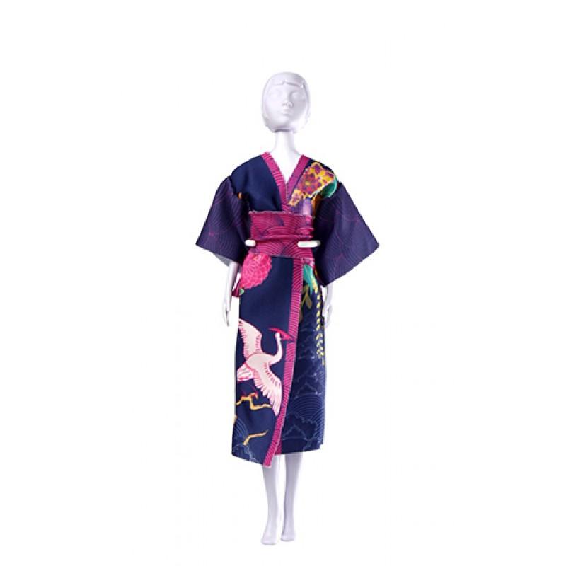 Yumi Kraanvogel kledingset, Dress your Doll