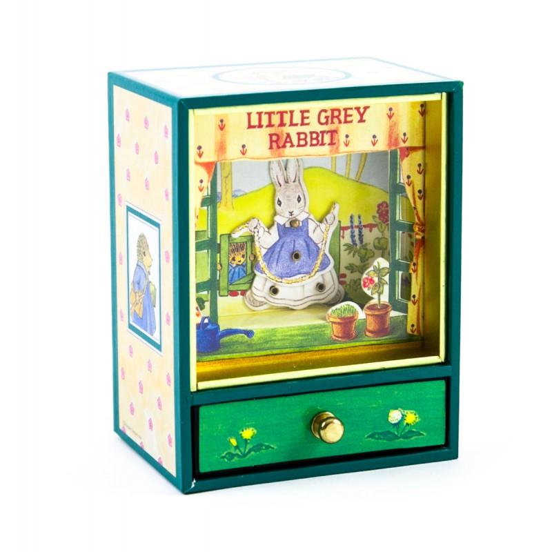 Muziekdoos Little Grey Rabbit