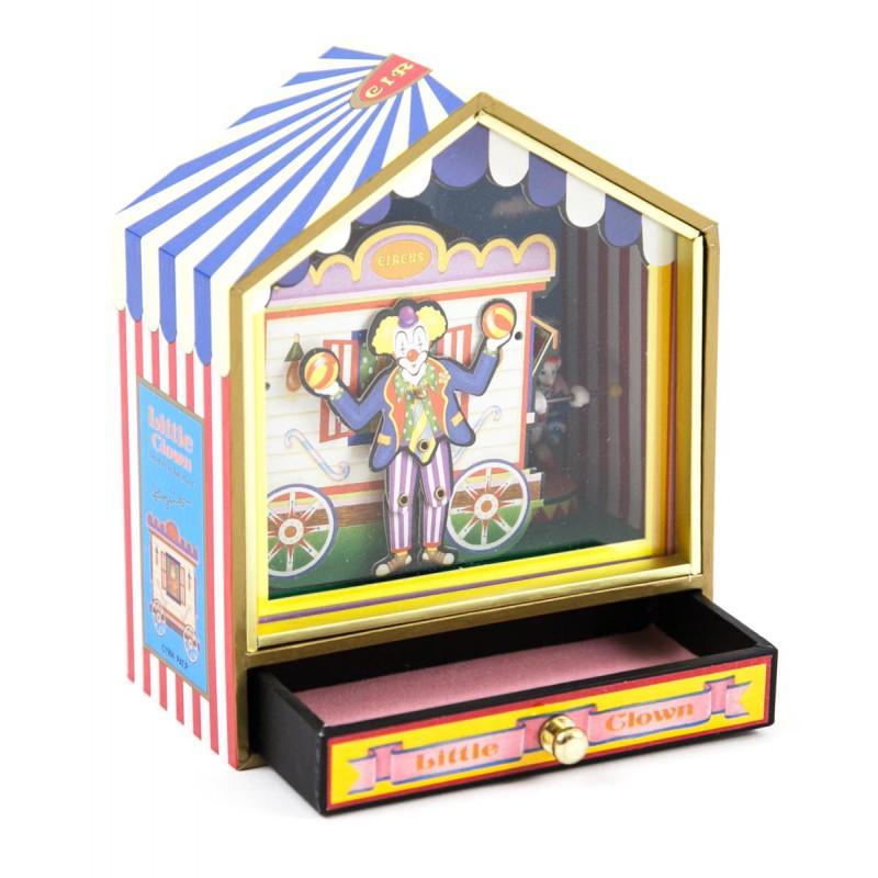 Muziekdoos Little Circus met draaiorgel