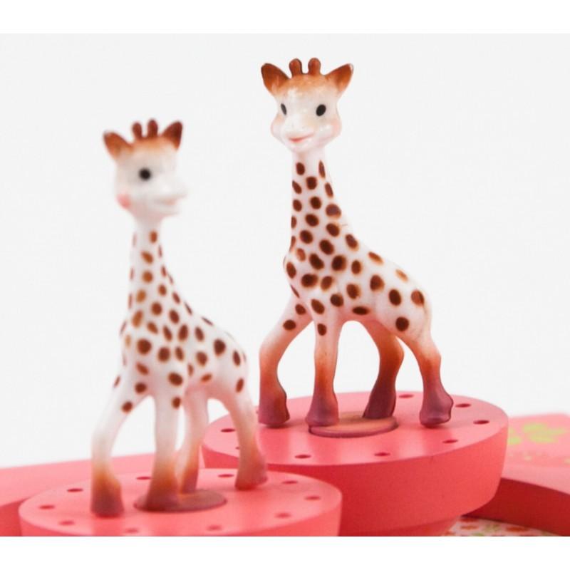Muziekdoos met draaiende Sophie de Giraf