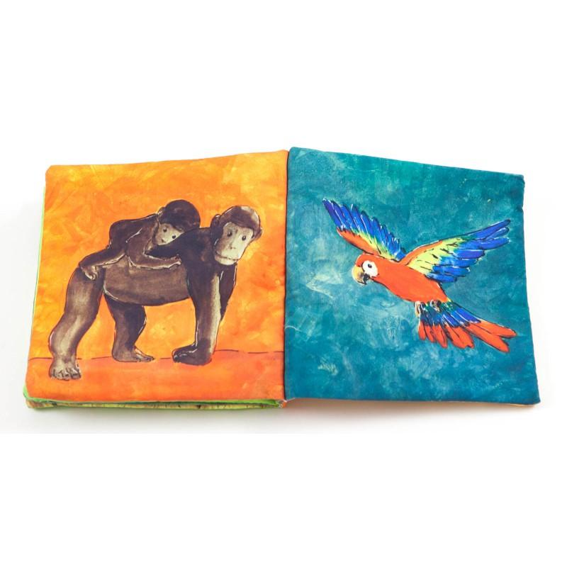 Stofboekje jungledieren, Egmont Toys