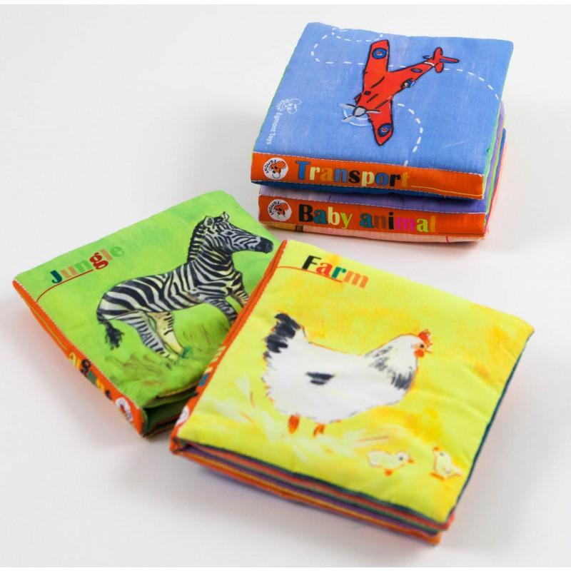 Stofboekje boerderijdieren, Egmont Toys