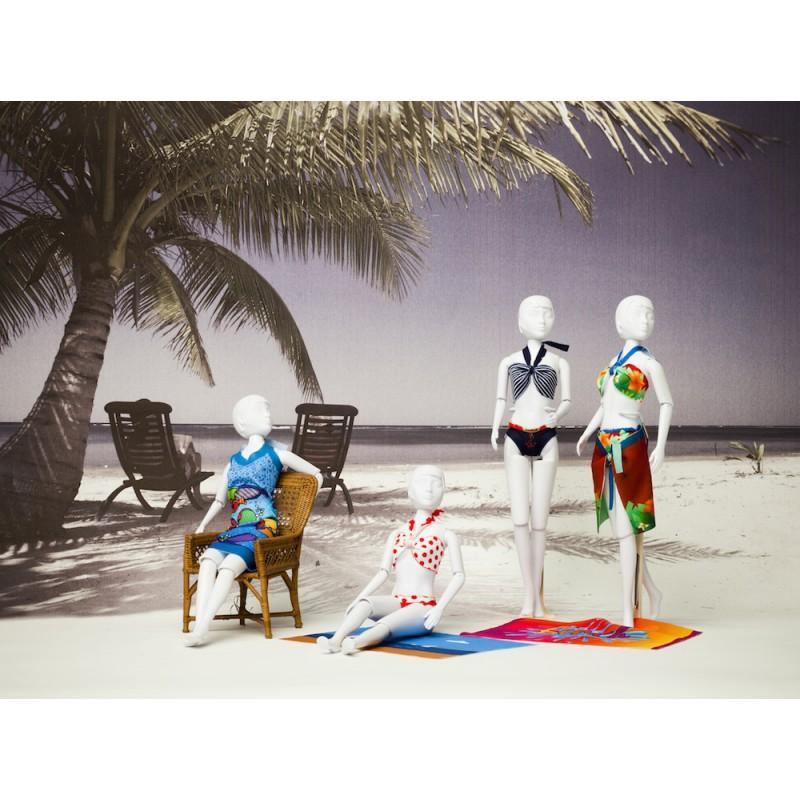 Naar het strand met Dress Your Doll