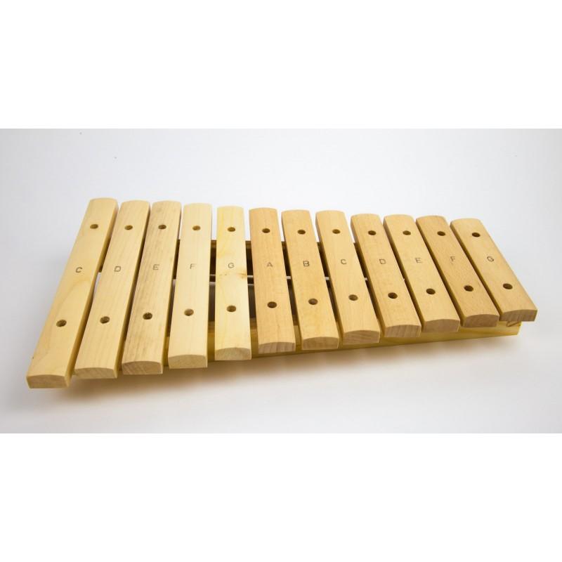 Xylofoon, 12 tonen