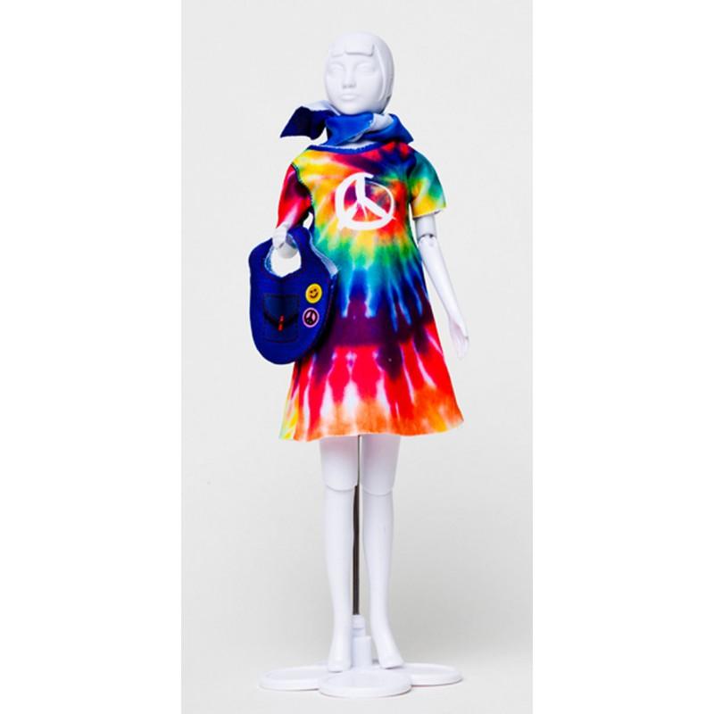 Twiggy Hippie kledingset, Dress Your Doll