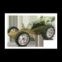 Bamboe auto Baja, Hape