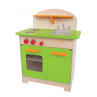 Gourmet groen houten keukentje, Hape