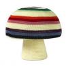 Grote paddenstoel poef met strepen, Anne-Claire Petit