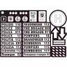 Stickers bij bouwpakket kazerne, Calafant+