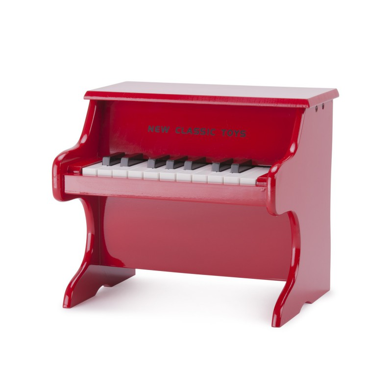 Speelgoed piano rood, New Classic Toys