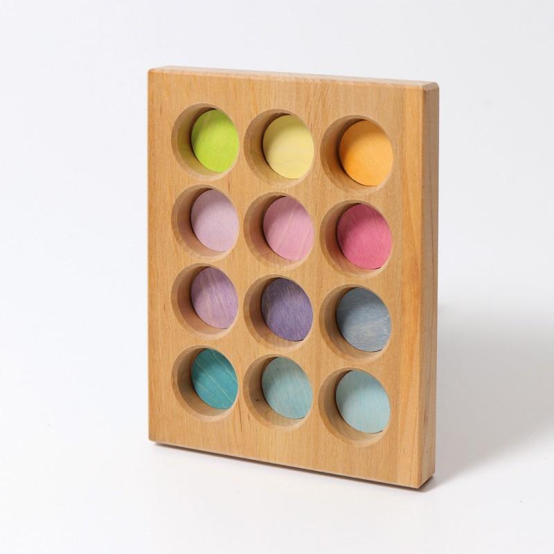 Sorteerbord pastel, Grimm's