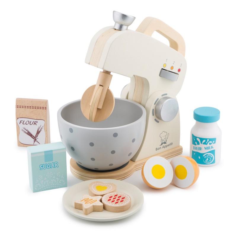 Houten mixer set, New Classic Toys