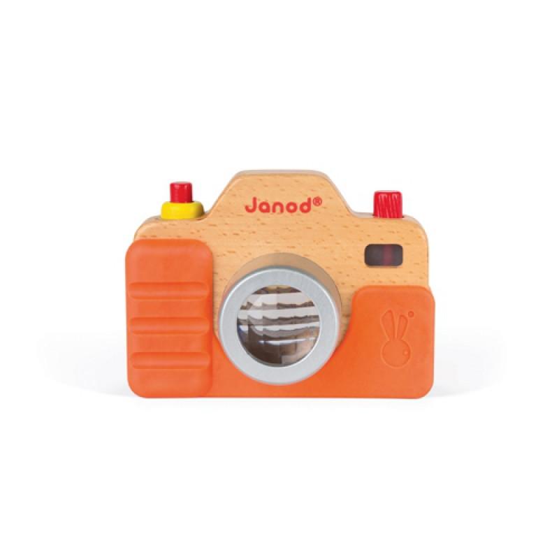 Houten camera licht en geluid, Janod