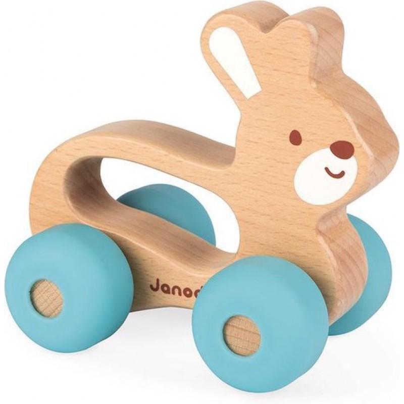 Duwfiguur konijn, Janod Baby Pop