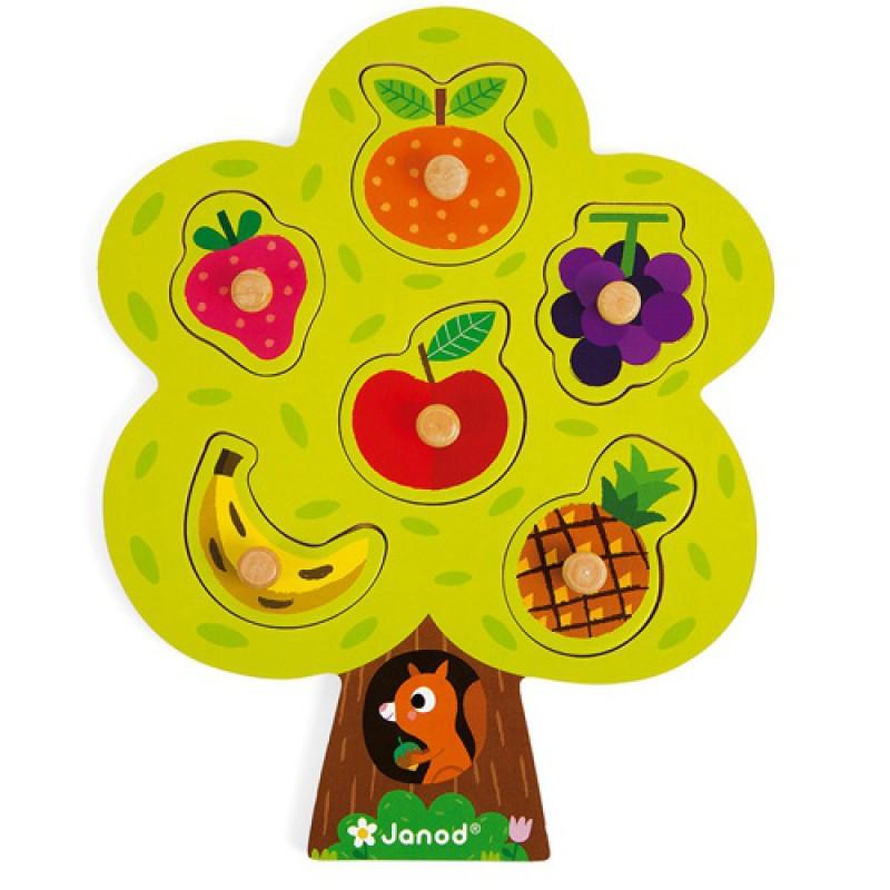 Knoppuzzel fruitboom, Janod