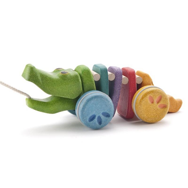 Dancing Alligator Rainbow, Plan Toys