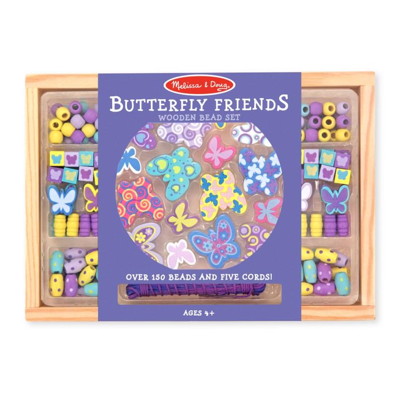 Kralenset vlinders, Melissa & Doug