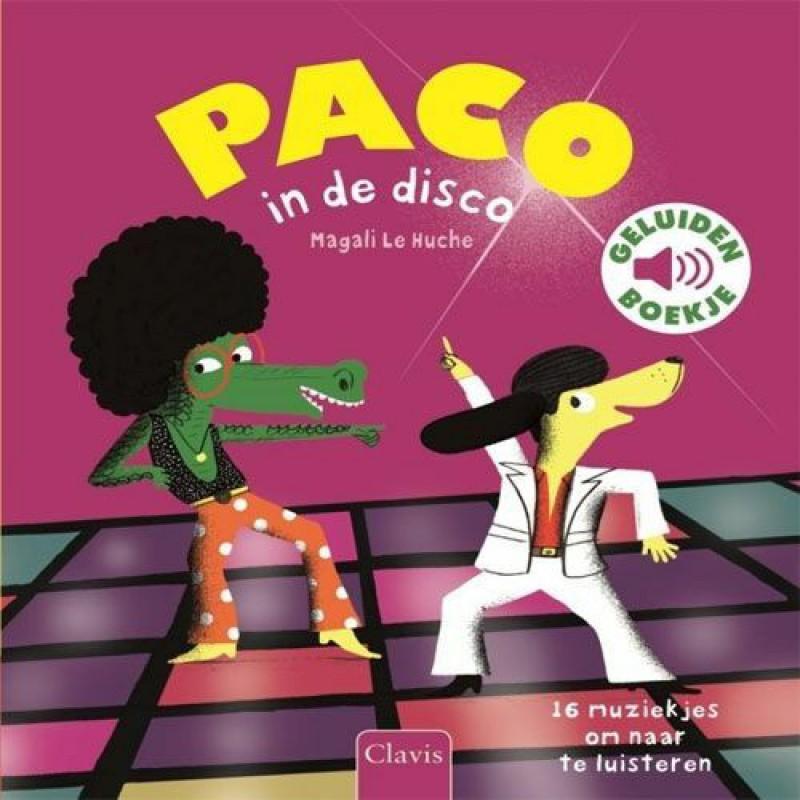 Paco in de disco geluidenboek