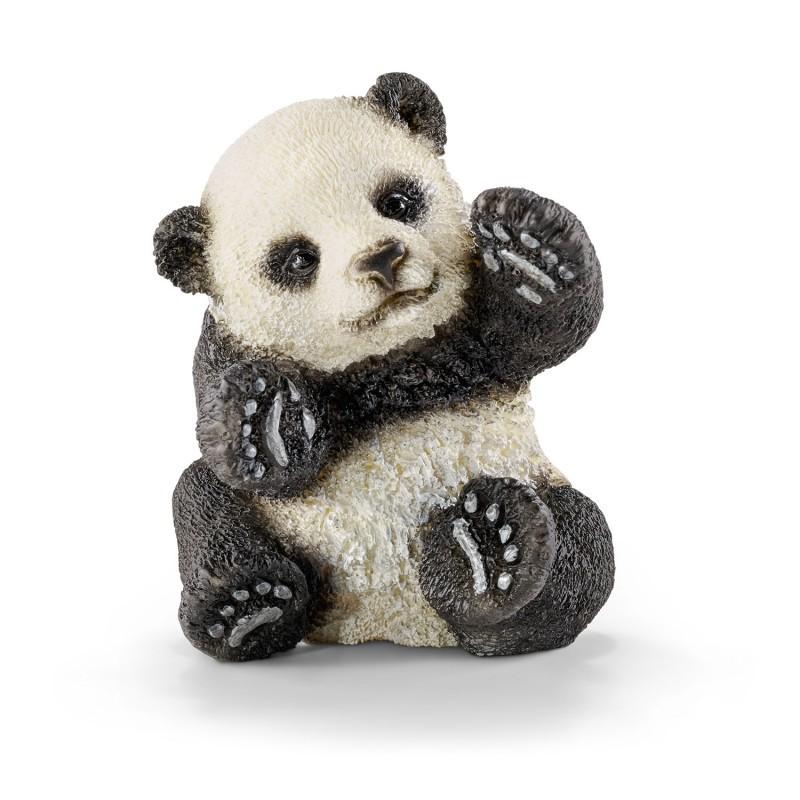 Jonge panda spelend, Schleich