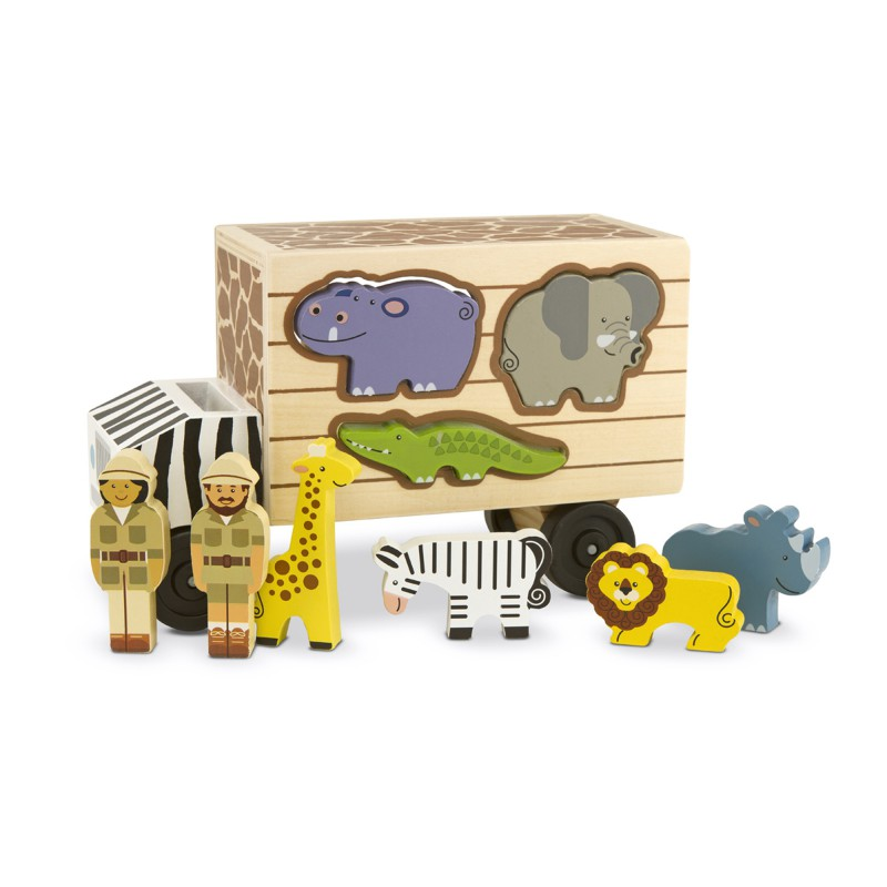 Safari Rescue truck, Melissa & Doug
