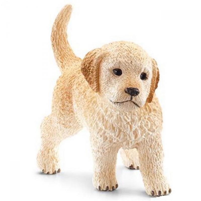 Golden retriever puppy, Schleich