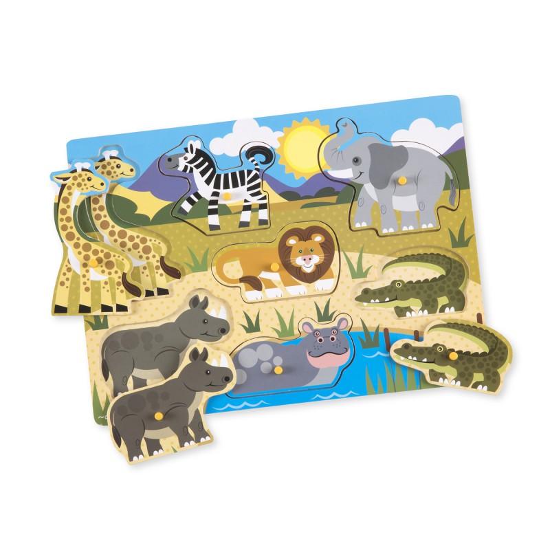 Knoppuzzel safari, Melissa & Doug
