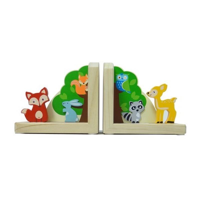 Boekensteunen bosdieren, Simply for Kids