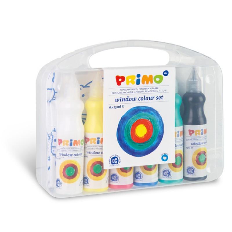 Raamverf 6 kleuren, Primo