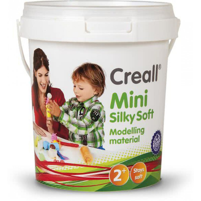 Mini Silky Soft klei pastel 350 gram, Creall