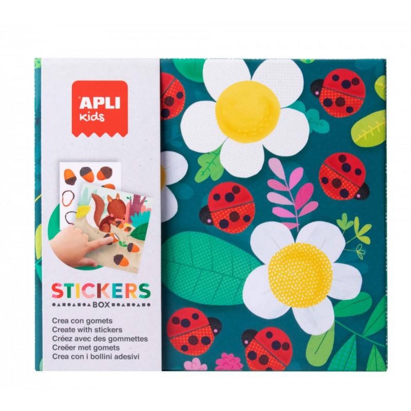 Stickerbox groen, Apli