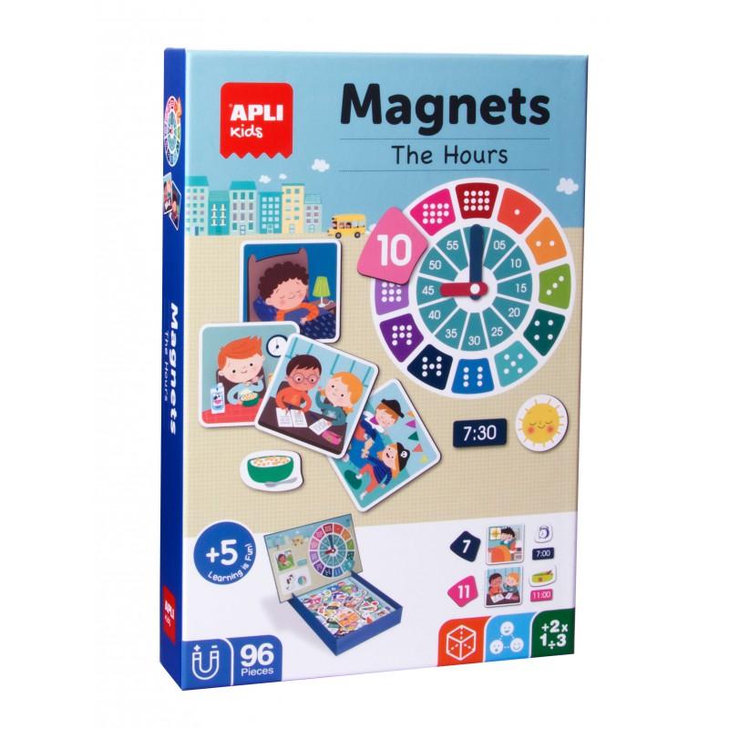 Magneten klokkijken, Apli