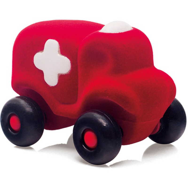 Kleine ziekenauto rood, Rubbabu
