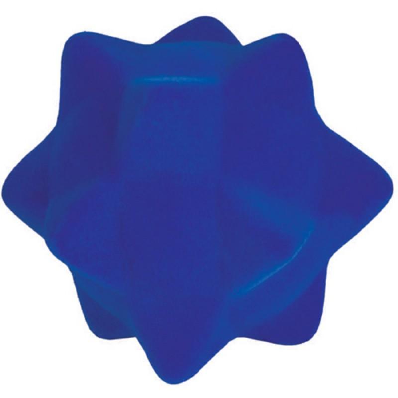Soft touch bal blauw, Rubbabu