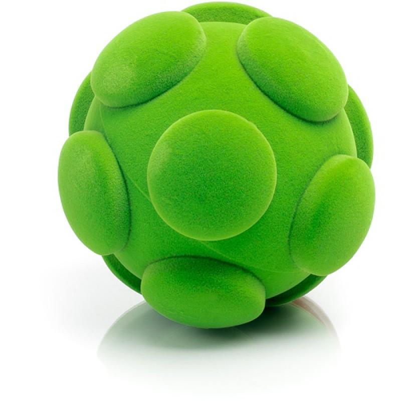 Soft touch bal groen, Rubbabu