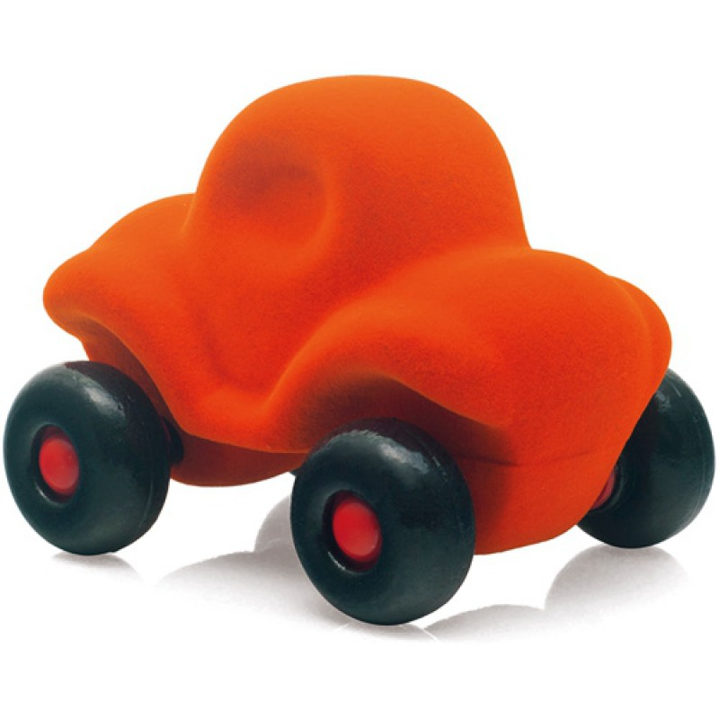 Kleine auto oranje, Rubbabu