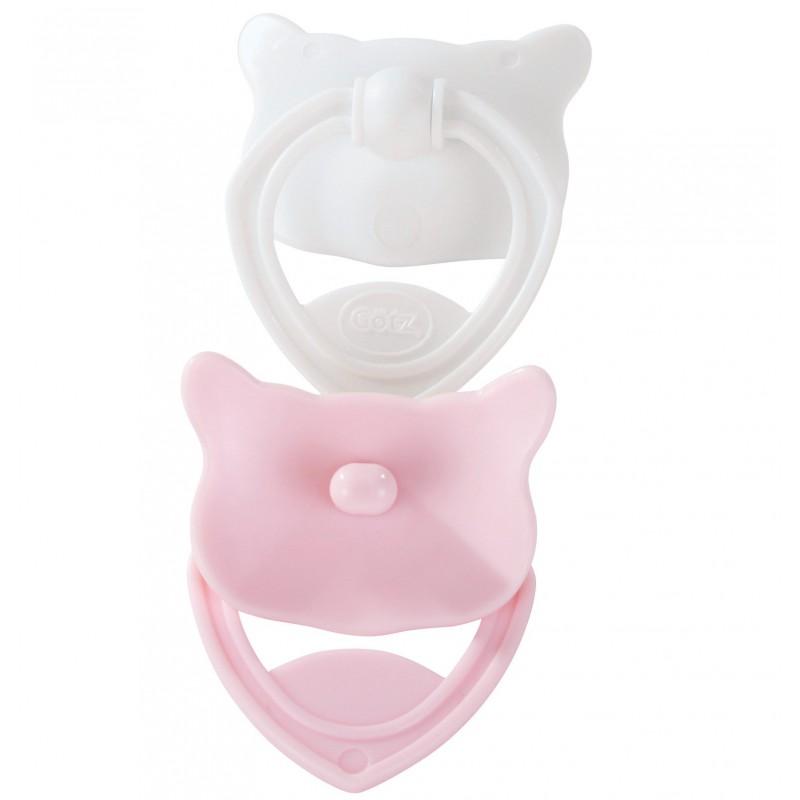 Speentjes roze-wit babypop, Goetz