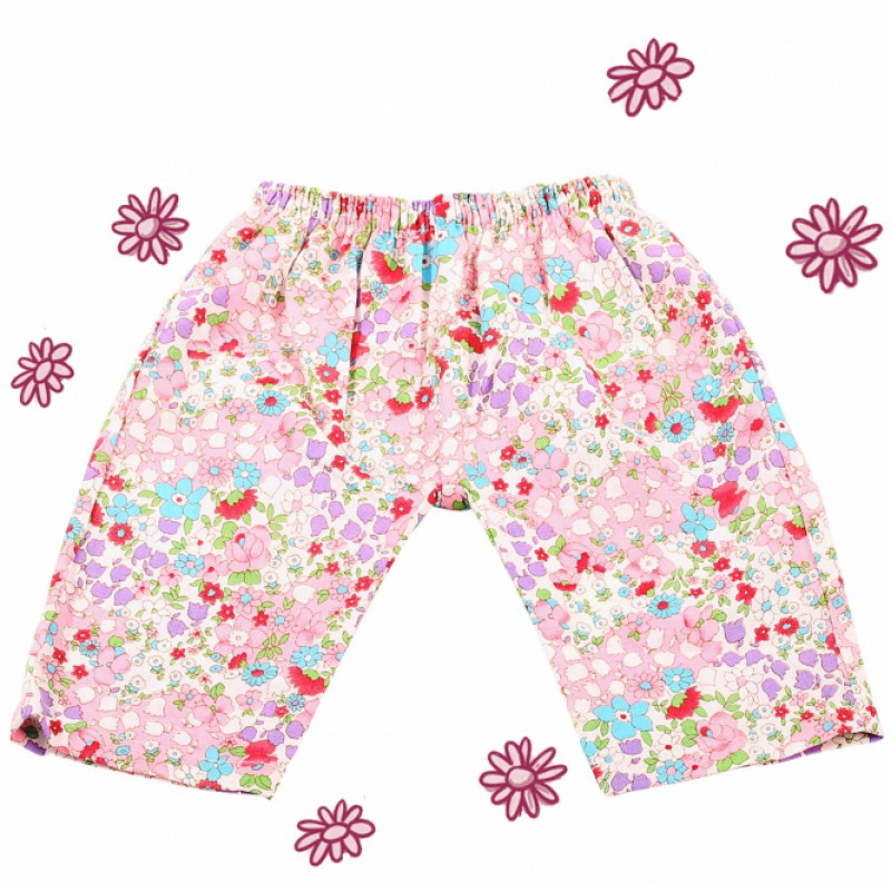Broek Mille Fleurs babypop S, Goetz