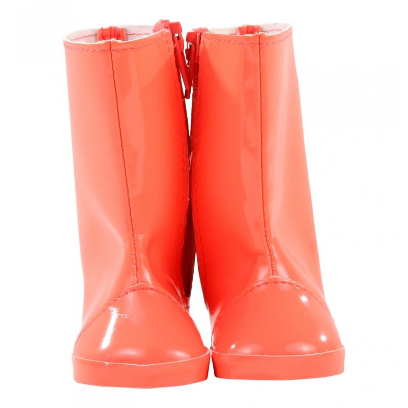 Neon oranje regenlaarzen pop M en XL, Goetz