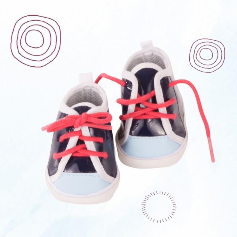 Poppensneakers Marine, Goetz