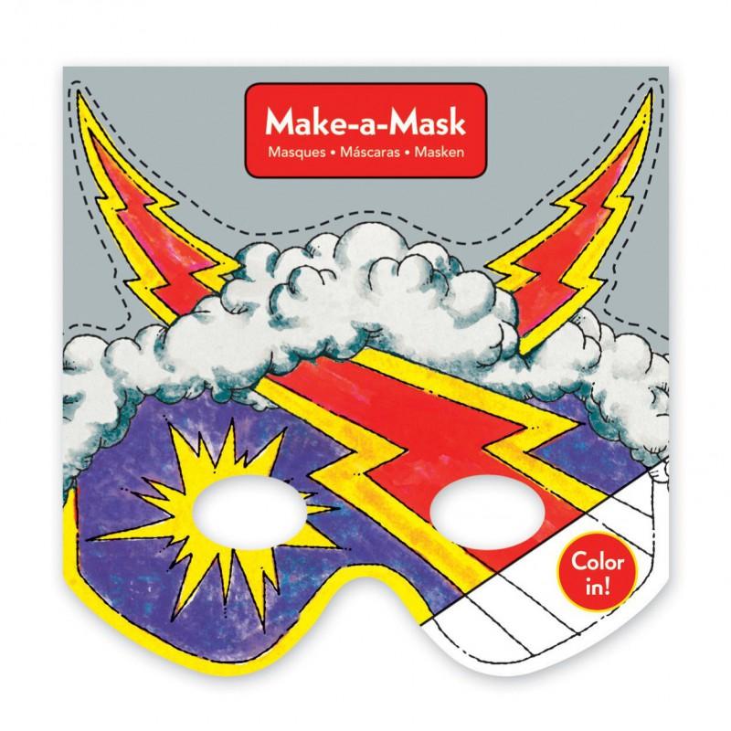 Make-a-Mask superhelden, Mudpuppy