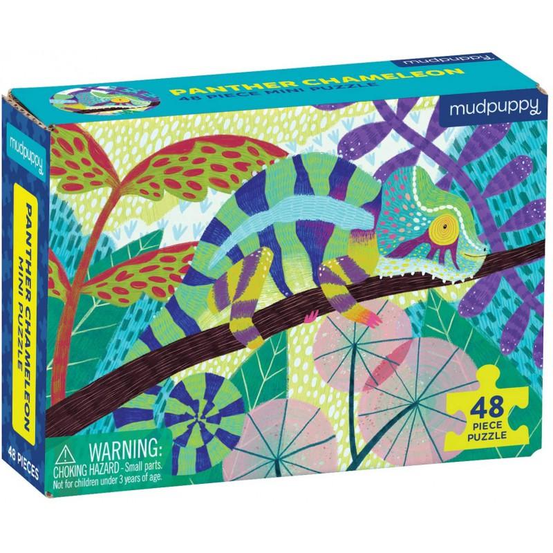 Mini puzzel Panterkameleon, Mudpuppy