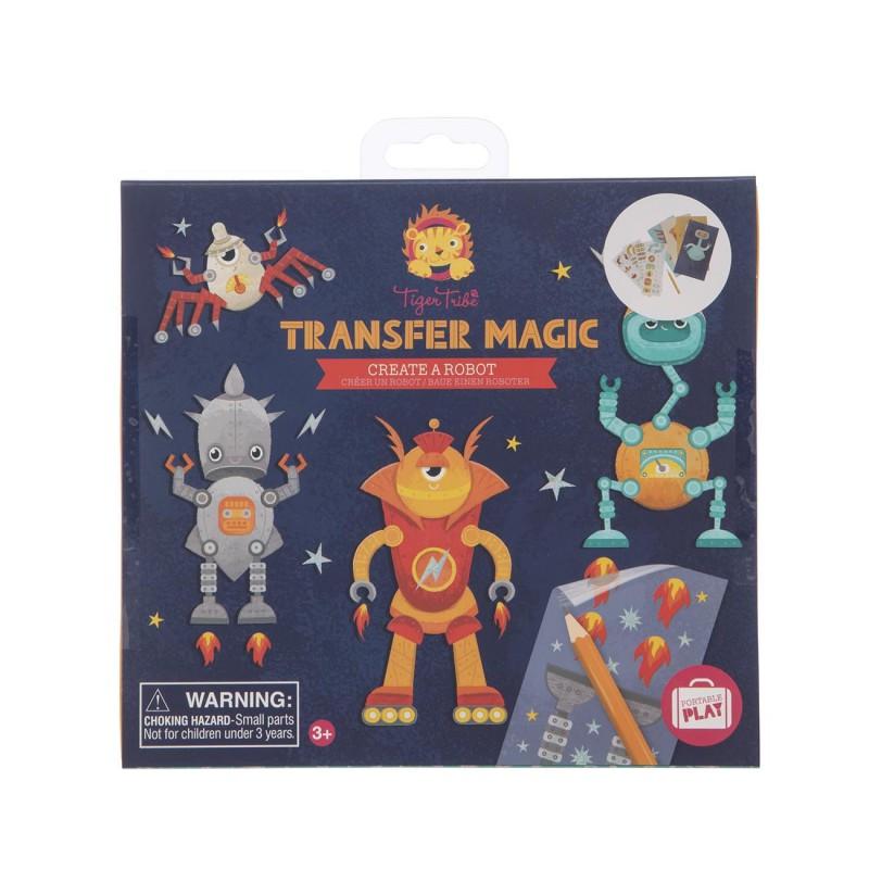 Transfer Magic Create a Robot, Tiger Tribe