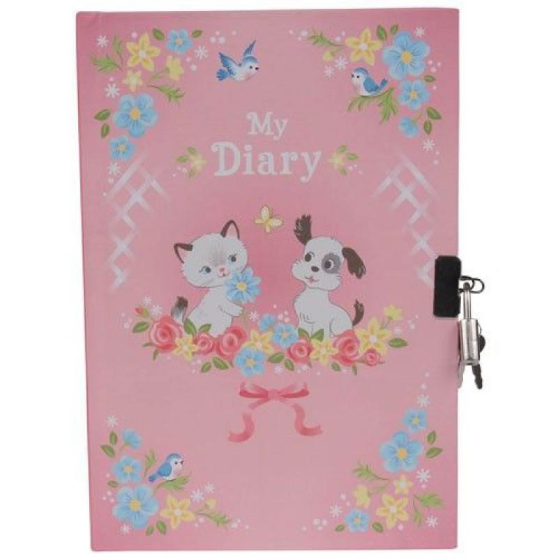 Dagboek met slot kittens & puppies, Tiger Tribe